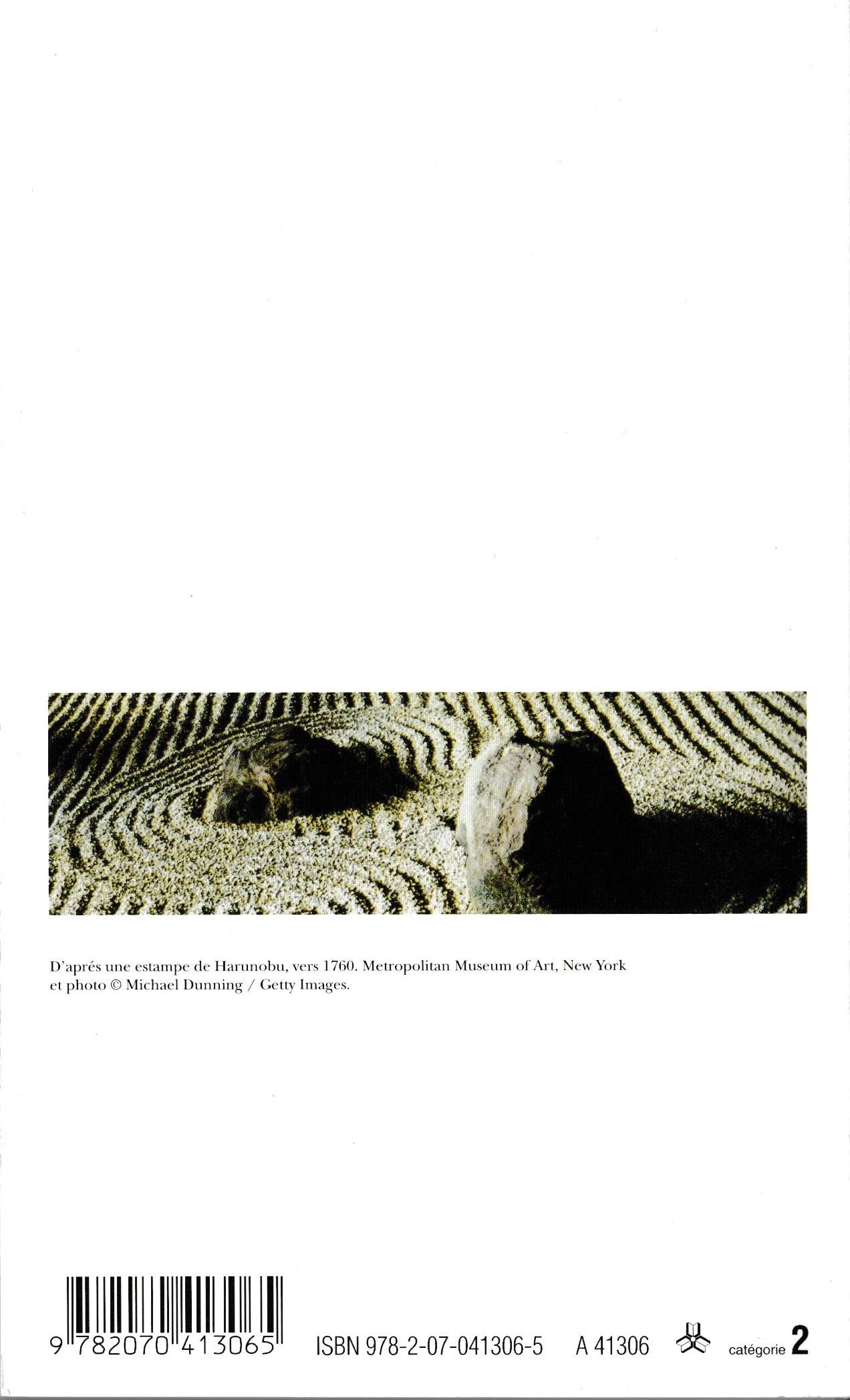 Haiku Anthologie Du Poème Court Japonais Poésiegallimard