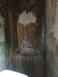 Fresque dans la petite chambre de notre appartement