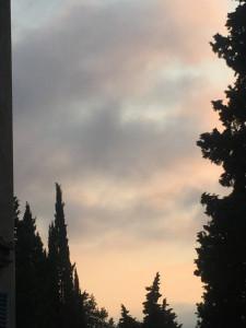 Le ciel à 6h30
