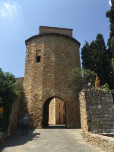 L'entrée du village