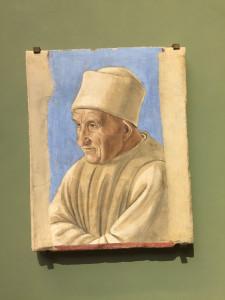 Pittore Fiorentino - Portrait d'un vieil homme - Entre 1475 et 1500
