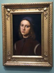 Le Pérugin - Portrait d'un jeune homme - 1494