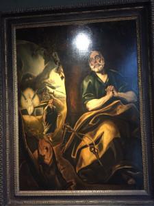 Le Gréco - Les larmes de Saint Pierre - 1650