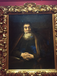 Rembrandt - Un rabbin - 1665