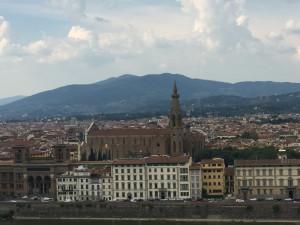 Vue depuis la Piazza Michelangelo