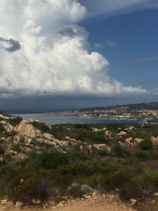 La Maddalena vue de Caprera
