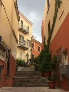 Ruelle dans La Maddalena