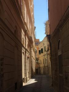 Une ruelle déserte