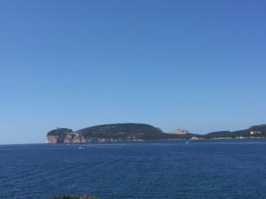 Capo Caccia, de l'autre côté du golfe