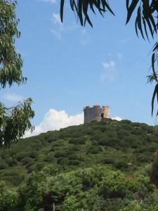 La tour au dessus de Tramariglio