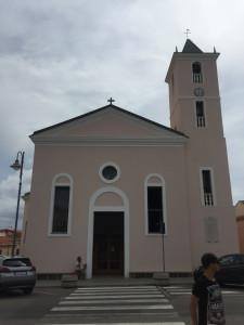 L'église de Stintino