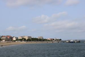 La plage d'Arcachon