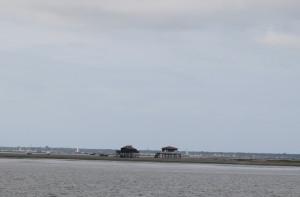 Les Cabanes Tchanquées et l'Île aux Oiseaux