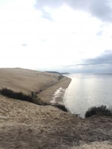 La dune du Pilat vue de la corniche
